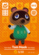 Amiibo - Card - Animal Crossing - Tom Nook