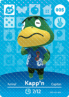 Animal Crossing Amiibo Card 005