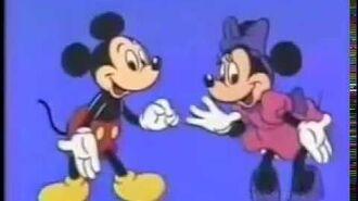 Japanese TV Commercials 3875 Mickey Mouse - Fushigi no Kuni no Daibouken ミッキーマウス 不思議の国の大冒険