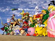 Super Smash Bros. Melee Artwork