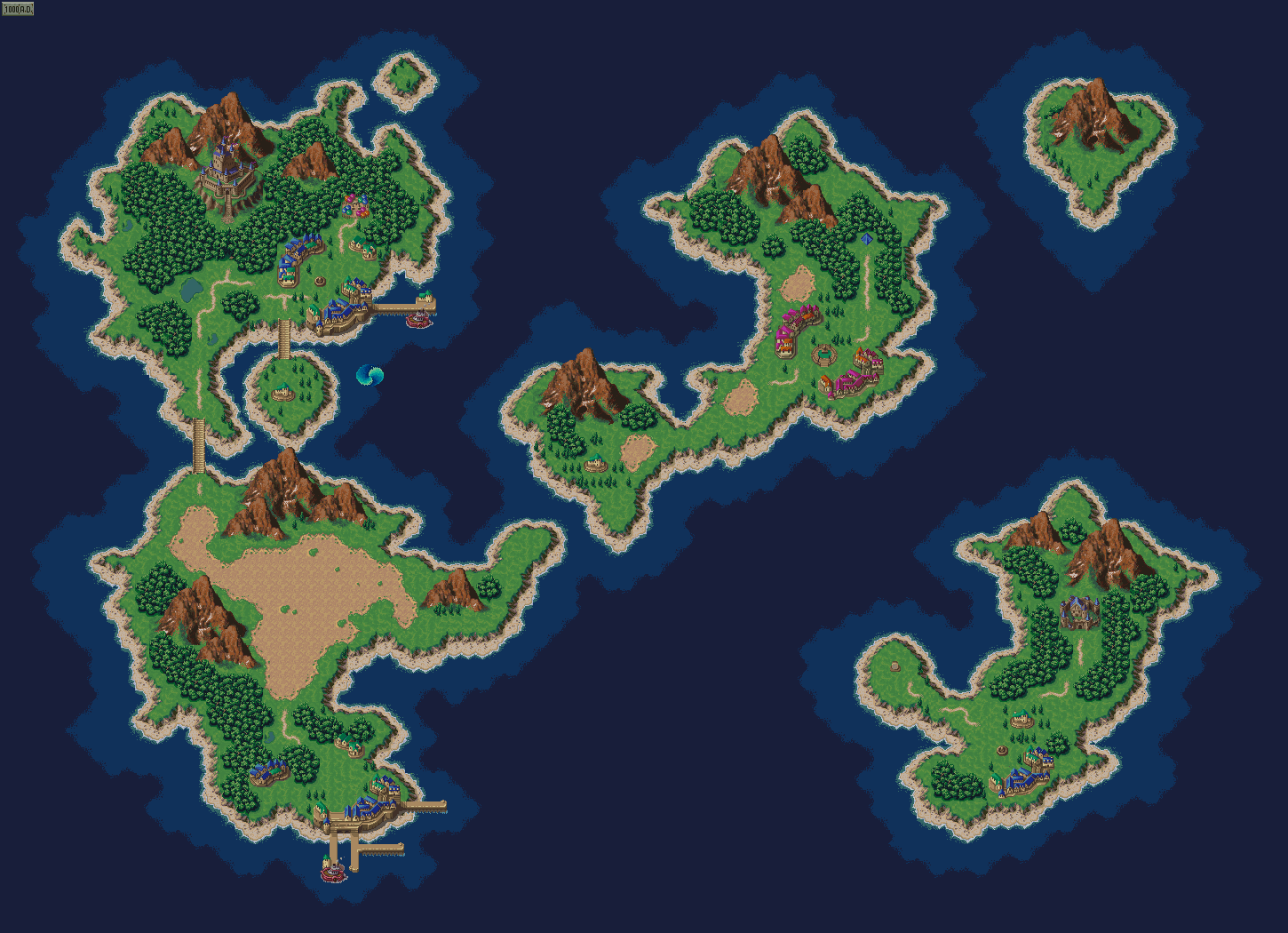 Image chrono trigger world map 1000 adg nintendo fandom chrono trigger world map 1000 adg edit gumiabroncs Images