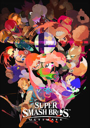 Inkling Illustración - Super Smash Bros Ultimate