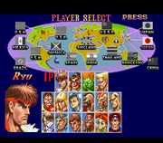 Super Street Fighter II - The New Challengers (roster)