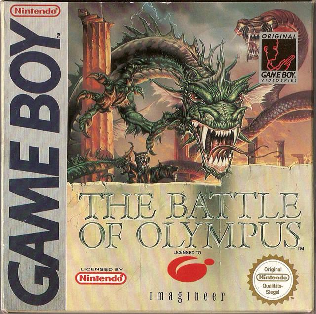battle of olympus nes