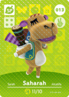 Animal Crossing Amiibo Card 013