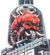 Mother Brain NES Metroid artwork