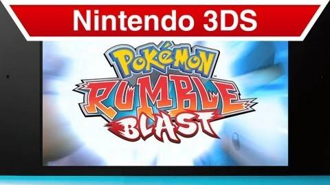 Nintendo 3DS - Pokémon Rumble Blast Trailer