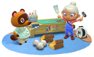 Animal Crossing New Horizons - Scene artwork 01