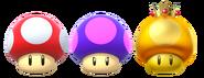 Super Mario Party - Item - Mushrooms