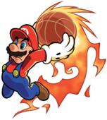 Mario Artwork 2 - Mario Hoops 3-on-3