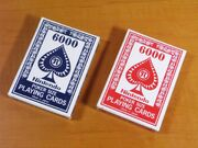 NIntendo Playing Cards 6000
