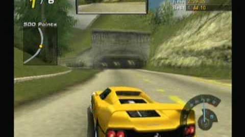 Need For Speed Hot Pursuit 2 - GameCube - Ferrari F50