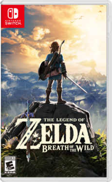 BotW NA Switch Box Art