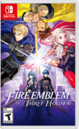 Fire Emblem Three Houses box art