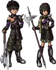 Gladiator (Dragon Quest IX Sentinels of the Starry Skies)