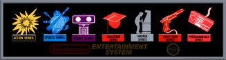 NES Series Logo's