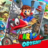 Super Mario Odyssey - Key Art 01