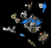 Distant Tundra map