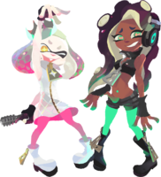 Splatoon 2 - Artwork - Off the Hook