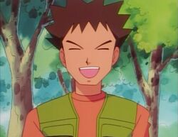Brock in the anime
