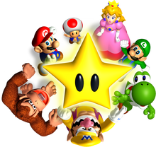 Mario Party - Artwork