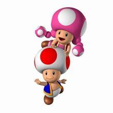 Toad y Toadette