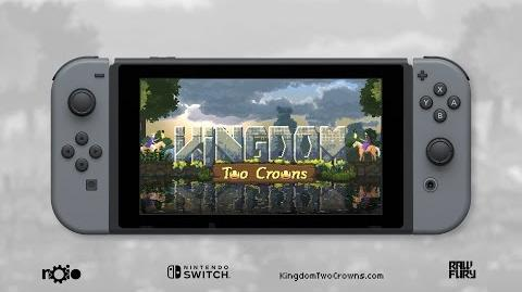 Kingdom Two Crowns Nintendo Switch Announce Trailer