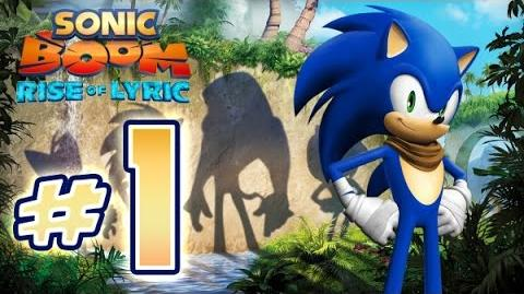 Sonic Boom Rise of Lyric (WiiU) Gameplay No Commentary Walkthrough Part 1