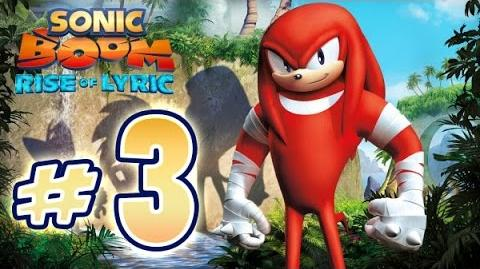 Sonic Boom Rise of Lyric (WiiU) Gameplay No Commentary Walkthrough Part 3