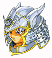 Terry Metal-King-Helm DQVI