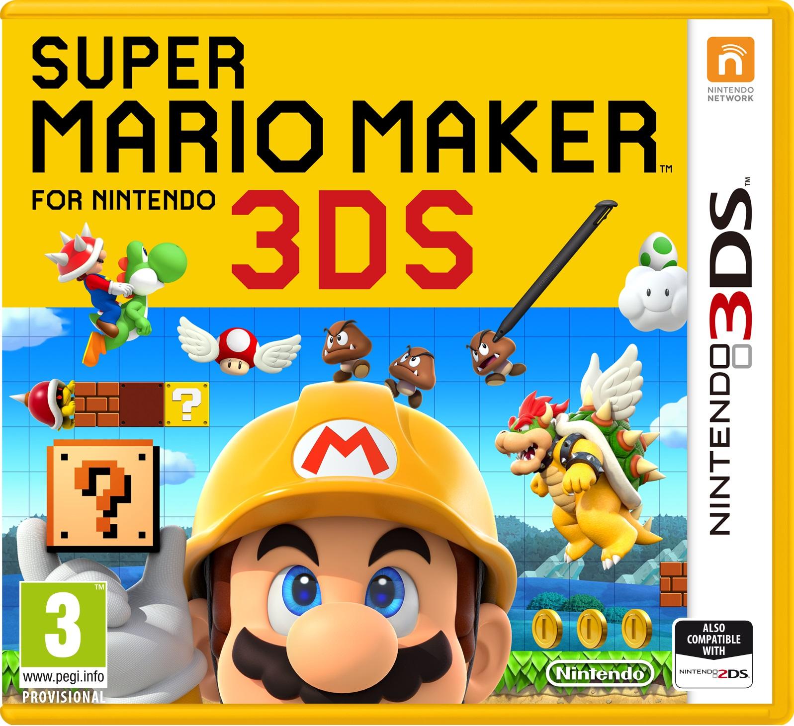 Super Mario Maker for Nintendo 3DS | Nintendo | FANDOM powered by Wikia