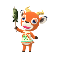 Animal Crossing - Pocket Camp - Character Artwork - Beau 01
