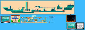 SMB3 World 3-Airship