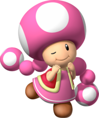 Toadette - Mario Party 7