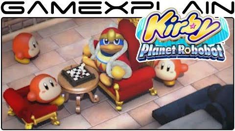 Kirby Planet Robobot - Opening Cutscene