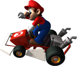 Mario Artwork 2 - Mario Kart DS