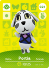 Animal Crossing Amiibo Card 021