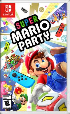 Caja de Super Mario Party (América)