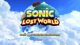 Sonic Lost World (Wii U) playthrough ~Longplay~