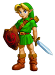 The Legend of Zelda Ocarina of Time 3D - Character artwork 08