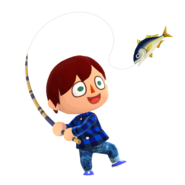 Animal Crossing - Pocket Camp - Character Artwork - Player - Boy 05