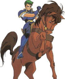 Luke (Fire Emblem Monshou no Nazo - 3)