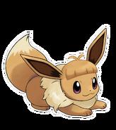 Pokémon Let's Go, Pikachu! and Let's Go, Eevee! - Character Artwork - Eevee 06