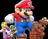 SM3DW Mega Mario