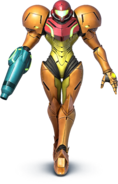 SSB4 - Samus Artwork