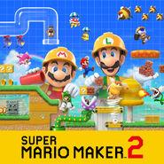 Super Mario Maker 2 - Key Art 01