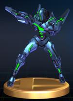 Sylux - Brawl Trophy