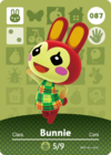 Animal Crossing Amiibo Card 087
