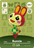 Amiibo - Card - Animal Crossing - Bunny