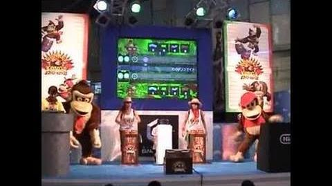 Donkey Konga (with DK Bongos) GameCube Gameplay 2003 10 13